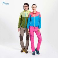 best hiking clothes - Outdoor Sport Men And Women Coat Couple Models Sun protective Mosaic Breathable Windproof Clothing Best Selling