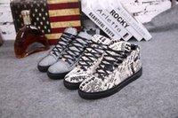 Wholesale Paris designers New Design High Top Shoes Bootie Leather Walk Sport Shoes Men Fashion Lace Up Casual Men Flats Custom handmade shoes