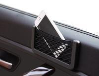 automotive storage - Car Net Bag Car Organizer Nets X8cm Automotive Pockets With Adhesive Visor Car Bag Storage for tools Mobile phone