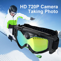 Wholesale New Arrival Hunting Camera HD Video Camera Snow Goggles Frame TPU Tactical Goggles CL37