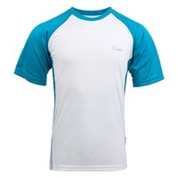 Wholesale New Breathable Quick Dry Thin T Shirt Outdoor Sport Brand Clothing Male Summer Fitness Running Camping Hiking T Shirt UA164