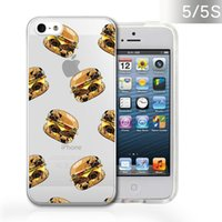 bananas trees - Summer Palm Tree Cupcakes Style Premium Thin TPU Case Skin for iphone S Banana for iphone S