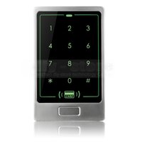 Wholesale DIY KHz RFID Card Reader Touch Panel Backlight Metal Case Password Keypad For Access Control System Kit C20