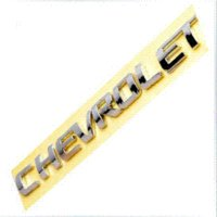 Wholesale 3D Letter Sticker Emblem Logo For Chevrolet ABS Chrome Car Decal Badge For Chevy