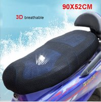 Wholesale 3D mesh seat motorcycle motorbike scooter Seat Covers Black Seat Cover breathable and heat insulation cm