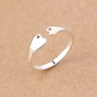 american quality manufacturing - fashion small fish design ring high quality silver jewellery handmade manufacture