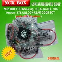 Wholesale 100 Original NCK Box with Cables Full activated Unlock Repair Flash