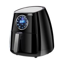 Wholesale air fryer three generation intelligent fume large capacity touch screen machine household electric frying fries