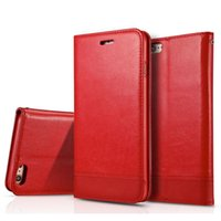 Wholesale Samsung Galaxy S6 S7 Edge Plus Note Luxury Leather Wallet Phone Case Magnetic Flip Cover Stand iPhone S SE S Plus