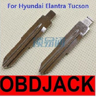 audi tucson - Folding key blanks For Hyundai Elantra and Tucson Car key embryo replacing the key head NO
