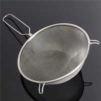 Wholesale Large cm Stainless Steel Sieve Strainer Mesh Wire Flour Baking Tea Kitchen