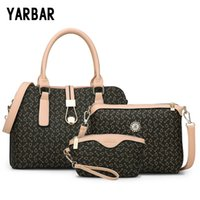 army gift shop - YARBAR New Brand Design Sets Mother Handbags Set Fashion Women Bag Printed Casual Female Shopping Bags Shoulder Bag Gift