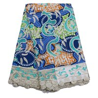 Wholesale premium quality handcut guipure lace fabric High class African cord lace fabric French lace prints for dress
