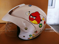 baby bicycle helmet - factory outlet kids helmets motorcycle half face electric bicycle child baby cartoon four seasons sale safety cascos para moto