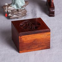Wholesale The woodcarving handicraft carved rosewood bamboo incense incense gold disc pomander currency exchange goods