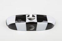 abs checker - 2014 Latest Mini Cooper ABS Material UV Protected Black Interior Mirror Cover Checker Style For mini cooper F56 Set