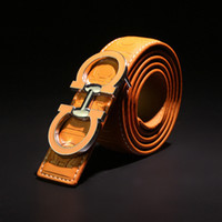 Wholesale COWATHER mens top cow genuine leather luxury strap male belts for men cm width cintos masculinos