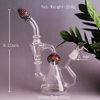 amazing and beautiful - Amazing Style inch Height Thick Glass Water Pipes Oil Rigs Glass bongs piece perc mm joint With High Quality and Beautiful Design