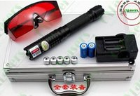 Wholesale 500000m Lazer Burning Focusable With Safety Glasses Box Battery Charger