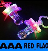 Wholesale hot sale new LED Flashing Pacifier Whistle Party Supplies Fun Toy Survival Tool Flash Glow Sticks Bar LLY
