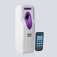 air fresheners automatic - 2016 Remote Control Hotel Automatic Aerosol Dispenser Wall Mounted Toilet Auto Aerosol Perfume Dispenser CE Air Fresheners