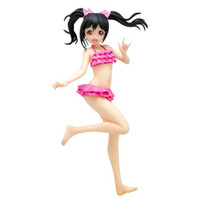 Wholesale Wave Love Live Action Figures Cartoon Doll Model Classic Simulation Anime Toys Craft Ornaments Sexy Nico Swimsuit Action Figures