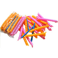 bendy hair curlers - New cm cm Magic Hair Curlers Curl Formers Spiral Ringlets Leverage Rollers