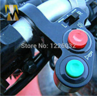 atv signal lights - Motorcycle ATV Scooter Offroad Universal Switch For Horn Turn Signal On Off Light swithes atv moto switching transducer