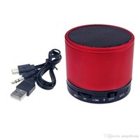 Wholesale Cool Mini Portable Wireless Bluetooth Red Speaker Audio Sound Subwoofer Amplifier Stereo For iPhone Mobile Phone MP4 Tool