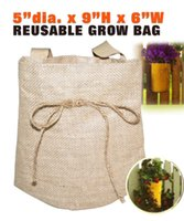 Wholesale Horusdy bags of potato cultivation planting vegetable planting bags Grow Bags Garden Pots Planters
