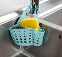 Wholesale Portable Home Kitchen Hanging Drain Bag Basket Bath Storage Tools Sink Holder