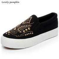 Wholesale hot sale flat canvans shoes woman slip on txt print Skateboarding shoes top quality brand casual designer shoes C033