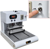 automatic glue machine - 2 Style Automatic Electric Hot Pressing Frame Bracket Shovel OCA Glue Polarizer Remove Laminating Machine for iPhone Series Max quot LCD