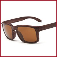beach grains - Wood Sunglasses Top Quality Classic Vintage Retro Hawksbill Wood Grain Eyewear UV400 Wooden Sunglasses for Sport Colors