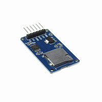arduino card reader - Micro SD card mini TF card reader module SPI interfaces with level converter chip for arduino