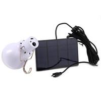 al por mayor la nueva led solar-La luz accionada solar de la luz de la nueva de la llegada S-1200 15W 130LM llevó la alta calidad cargada de la lámpara de la energía solar del jardín del bulbo que enviaba libremente