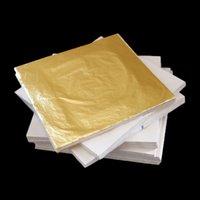 Wholesale 1000 sheets X cm Imitation gold leaf gilding sheet foil copper leaf