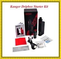 bear c - Authentic Kanger Dripbox Kit with Subdrip Tank Dripmod Box Mod Wide Bore Drip Tip VS Dripbox W Subox mini C