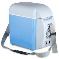Wholesale Portable V L Auto Car Mini Fridge Travel Refrigerator Quality ABS Multi Function Home Cooler Freezer Warmer