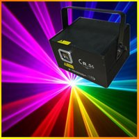 animation lighting disco - CR RGB mw Laser Light Show projector Red Bule Green Animation Stage Laser Lighting DJ Party Disco Lights Dance Lights