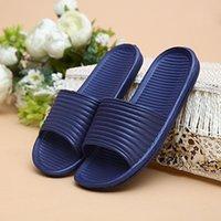 bathroom sandals - HOT EVA Couples Summer Men Slippers Women Home Indoor Floor Flat Sandals Slippers Bathroom Slipper Non slip Massage Shoes TM0065