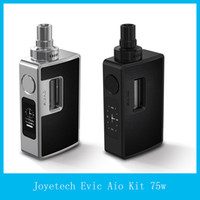 anti system - 100 Original Joyetech eVic Aio Kit W All In One VT Starter Kit Anti leaking Structure With Top Refilling and Top Airflow Control System