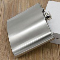 Wholesale new ounce large stainless steel hip flask alcohol flask pocket flask wine flask liquor flask