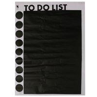 Wholesale Hot Blackboard Calendar Chalkboard Removable Notice Messages Blackboard Sticker Waterproof DIY Home Bedroom Office Decor