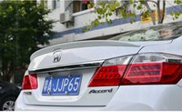 accord rear spoiler - fit for HONDA ACCORD USA version baking varnish stove varnishhigh quality Spoiler spoiler Wing rear wing different colors