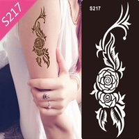 Wholesale Stencils for Body Painting Glitter Tattoos New Design Glitter Tattoo Kits Supplies