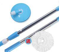Wholesale telescopic mop pole house mop pole magic mop handle pole and microfiber head