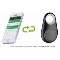 Wholesale Smart Bluetooth Tracer GPS Locator Tag Alarm Wallet Key Pet Dog Tracker Black