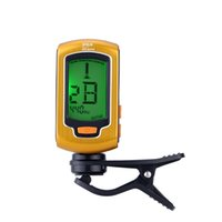 bass guitar sizes - ENO Chromatic Guitar Tuner with a LCD Screen Clip On Tuner for Guitar Bass Mini Size Guitar Parts Accessories