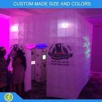 Wholesale colors changing inflatable party photo booth for sale